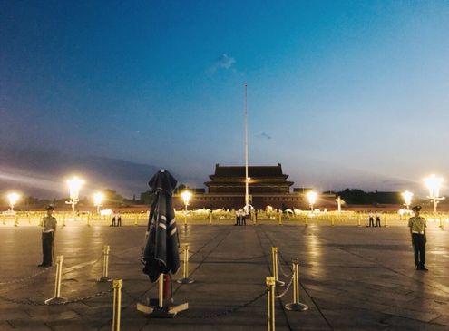 北京必玩-天安門升旗典禮