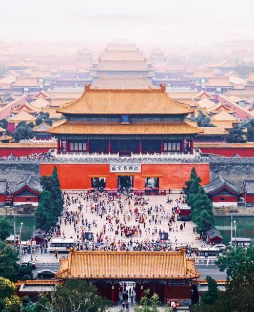 北京必玩-紫禁城-景山公園
