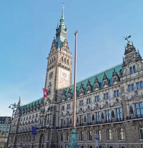漢堡必玩-Rathaus 漢堡市政廳