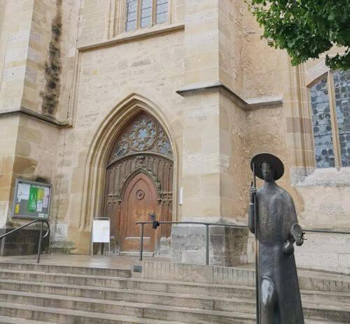 慕尼黑必玩-Rothenburg ob der Tauber 羅滕堡 = 羅騰堡-St.Jakobskirche 聖雅各教堂
