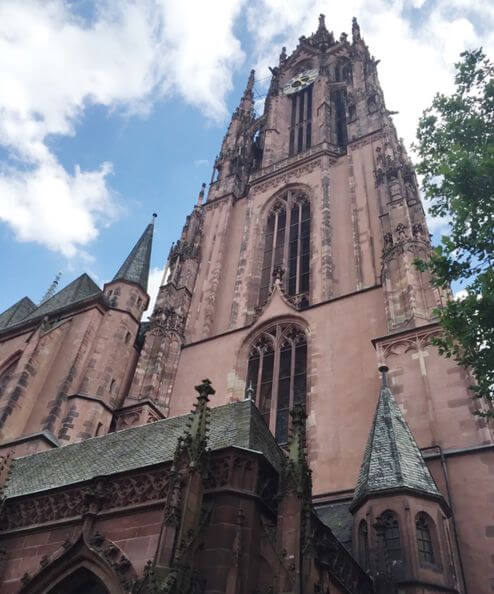 法蘭克福必玩-Kaiserdom St. Bartholomäus 聖·巴爾多祿茂 - 皇帝大教堂