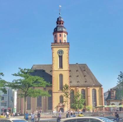 法蘭克福必玩-St.Katharinenkirche 聖凱薩琳教堂