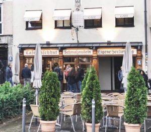 慕尼黑必吃-Schmalznudel - Cafe Frischhut