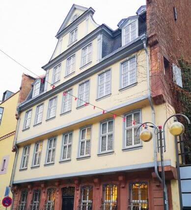 法蘭克福必玩-Goethe-Haus 歌德故居