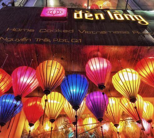 胡志明必吃-Den Long - Home Cooked Vietnamese Restaurant (Nhà hàng Đèn Lồng)