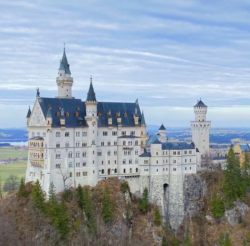 慕尼黑必玩-新天鵝城堡 = 新天鵝石城堡 = 新天鵝石宮 (德 Schloß Neuschwanstein)