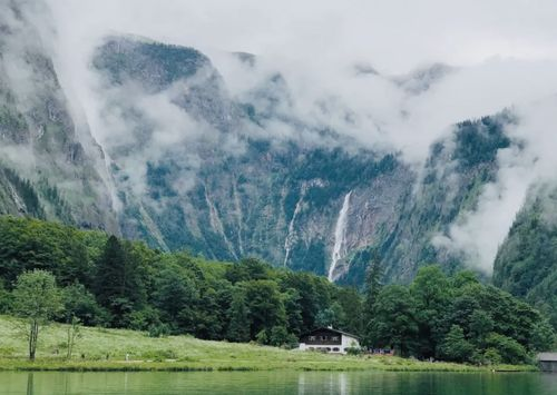 慕尼黑必玩-Königssee 國王湖-Röthbachfall 羅斯巴赫瀑布
