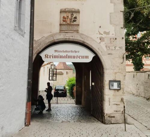 慕尼黑必玩-Rothenburg ob der Tauber 羅滕堡 = 羅騰堡-Mittelalterliches Kriminalmuseum 中世紀犯罪博物館