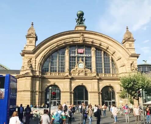 法蘭克福中央車站 Frankfurt am Main Hbf (Frankfurt (Main) Hauptbahnhof)