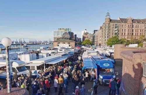 漢堡必玩-Altonaer Fischmarkt 漢堡漁市場