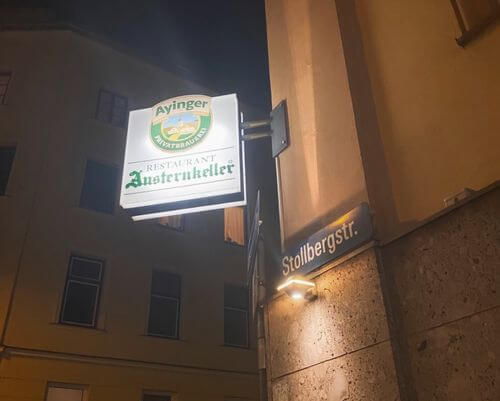 慕尼黑必吃-Austernkeller