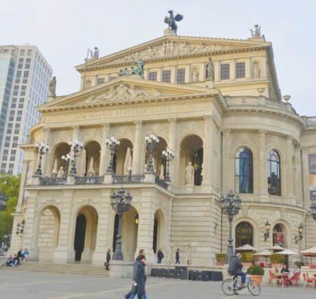 法蘭克福必玩-Alte Oper Frankfurt 法蘭克福舊歌劇院