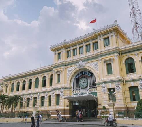 胡志明必玩-胡志明市中心郵政局 Bưu Điện Trung Tâm Thành Phố