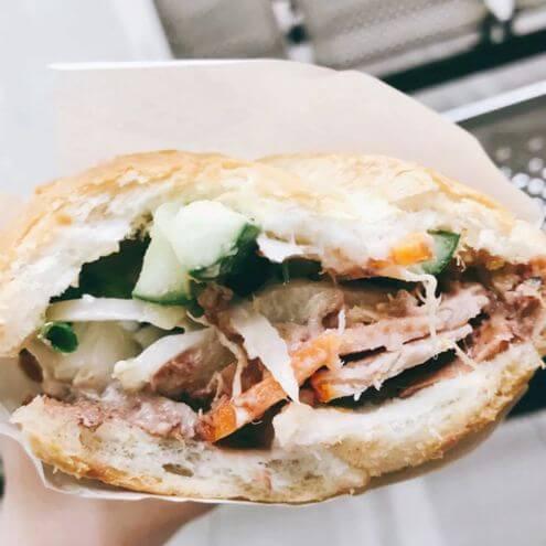 胡志明必吃-Bánh mì Huỳnh Hoa
