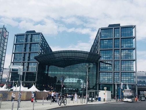 柏林火車總站 Berlin Hauptbahnhof (Berlin Hbf)
