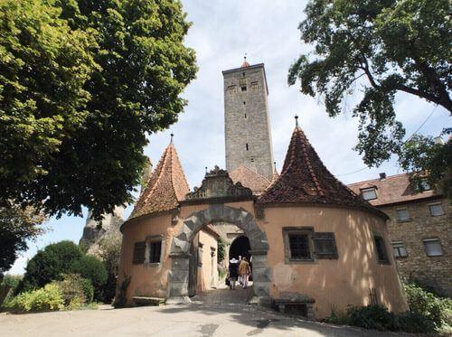 慕尼黑必玩-Rothenburg ob der Tauber 羅滕堡 = 羅騰堡-Burggarten 城堡花園