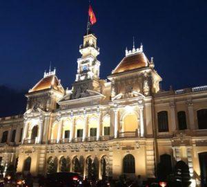 胡志明必玩-胡志明市人民委員會大廳 UBND Thành phố Hồ Chí Minh (市政廳)