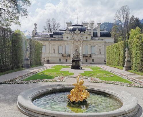 慕尼黑必玩-Schloss Linderhof 林德霍夫宮