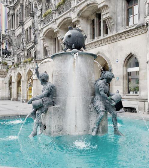 慕尼黑必玩-Marienplatz 瑪利亞廣場