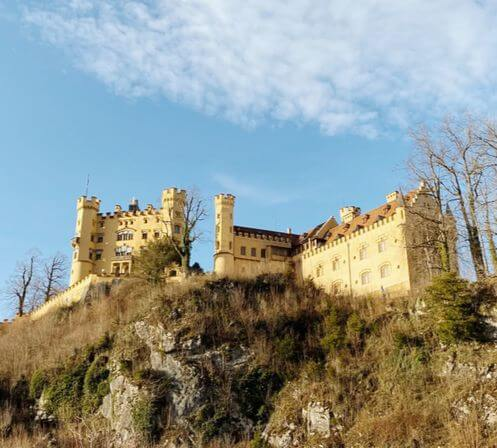 慕尼黑必玩-Schloss Hohenschwangau 高天鵝城堡 = 舊天鵝堡