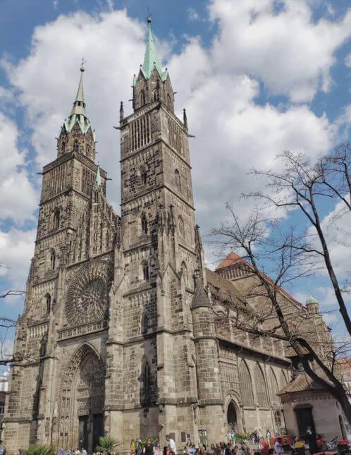 紐倫堡必玩-St. Lorenz Kirche Nürnberg 聖勞倫斯堂