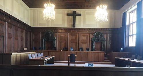 紐倫堡必玩-Justizpalast Nürnberg 紐倫堡審判紀念館