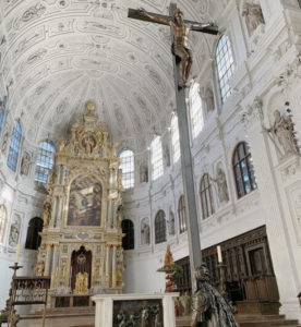 慕尼黑必玩-St. Michael Kirche 聖彌額爾教堂 = 聖米歇爾教堂
