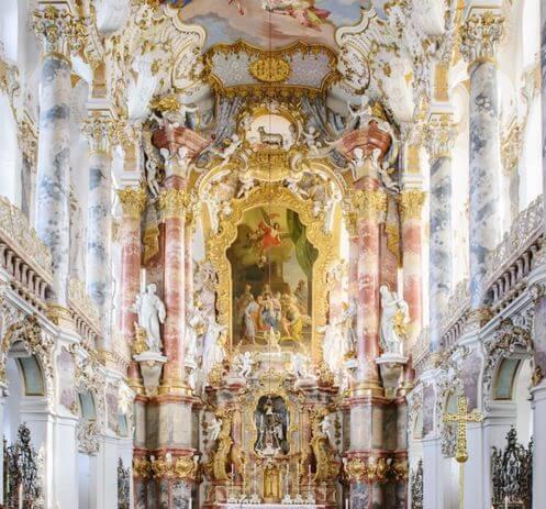 慕尼黑必玩-Wieskirche 維斯朝聖教堂