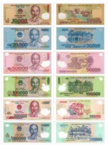2019 越南盾幣別