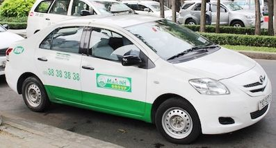 越南河內-Mai Linh Taxi