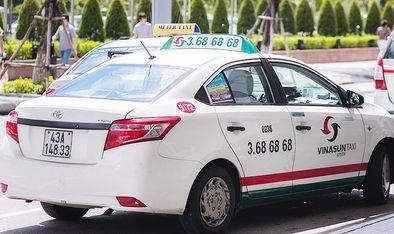 越南峴港-Vinasun Taxi
