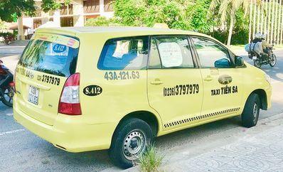越南峴港-Tiên Sa Taxi