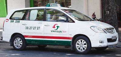 越南胡志明-Vinasun Taxi