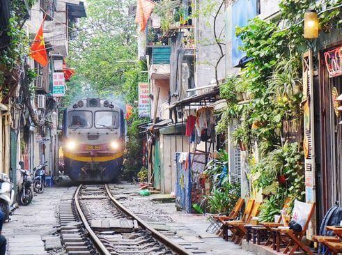 河內必玩-Train Street 鐵道街
