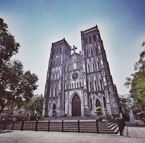 河內必玩-聖約瑟夫大教堂