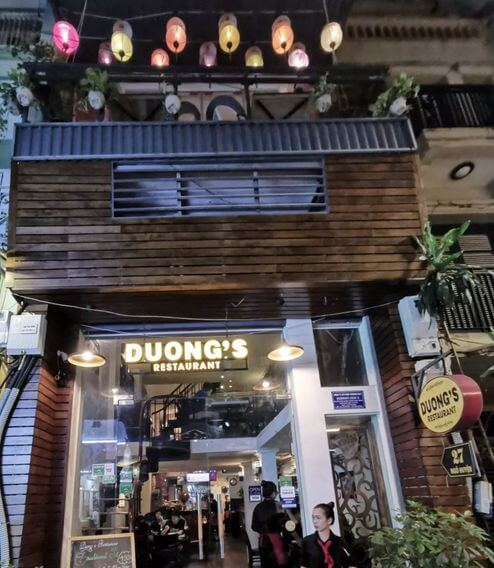 河內必吃-Duong's Restaurant