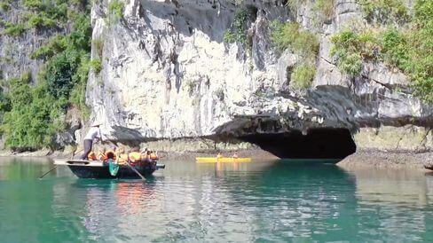 河內自由行-下龍灣-穿洞 Luon Cave