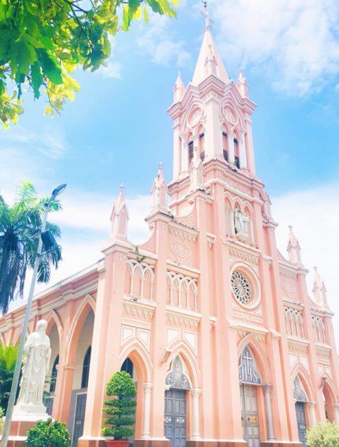 峴港必玩-峴港大教堂 (Giáo xứ Chính tòa Đà Nẵng)