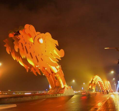 峴港必玩-龍橋 Dragon Bridge (Cầu Rồng)