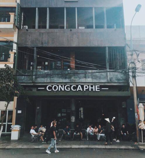 峴港必吃-椰子咖啡 (Cộng Cà Phê)