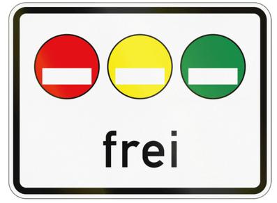 德國自駕注意事項-frei可通行貼紙種類