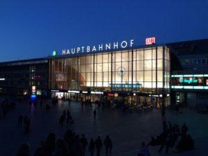 科隆中央車站 Köln HBF (Köln Hauptbahnhof)