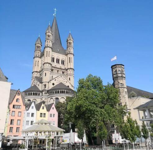 科隆必玩-大聖瑪爾定教堂 Kath. Kirche Groß St. Martin