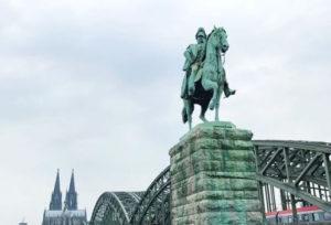 科隆必玩-凱撒·威廉二世 Equestrian Statue of Kaiser Wilhelm II.
