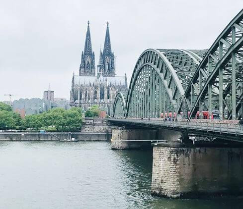 科隆必玩-霍亨索倫橋 Hohenzollernbrücke