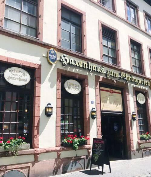 科隆必吃-Haxenhaus zum Rheingarten