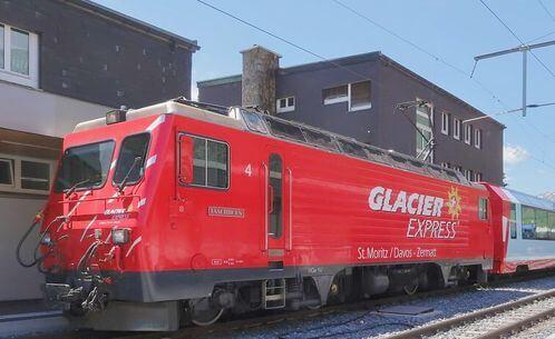 瑞士必搭-Glacier Express 冰河列車