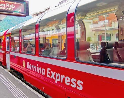瑞士必搭-Bernina Express 伯爾尼納快車