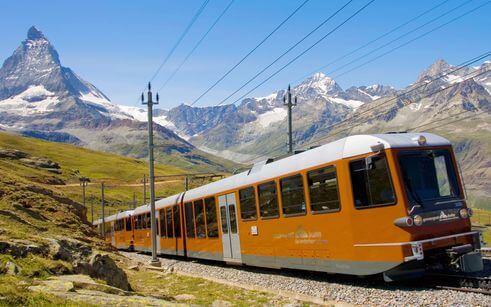 瑞士必搭-Gornergrat Train 戈爾內格拉特鐵路