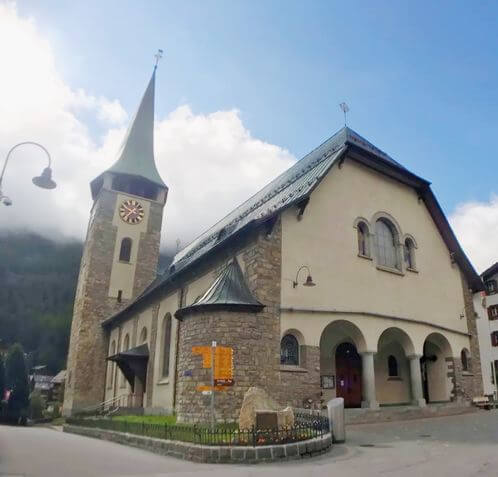 策馬特必玩-St. Mauritius Church